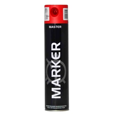 MÄRKFÄRG MASTER MARKER ORANGE 600ML
