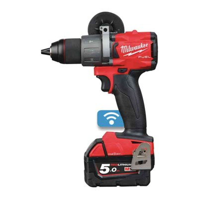 BORRSKRUVDRAGARE MILWAUKEE M18 ONEDD2-502X 2X5AH 135NM 177 MM