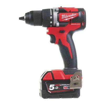 BORRSKRUVDRAGARE MILWAUKEE M18 CBLDD-502C - 2X5AH 60NM 165MM