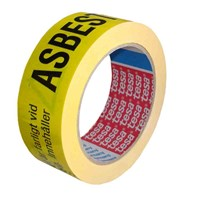 Varningstejp Asbest Tesa 6875