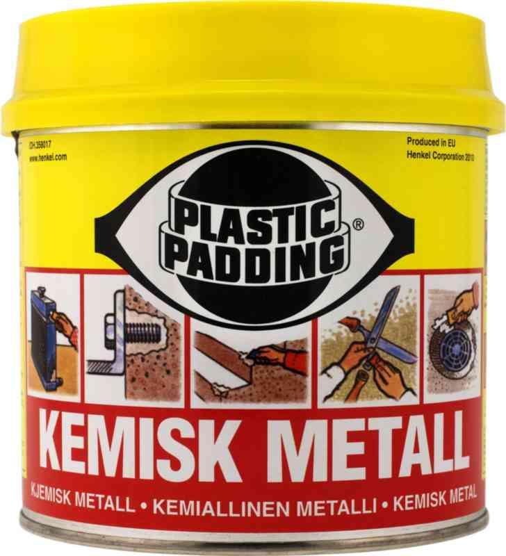 plastic padding sprayfärg