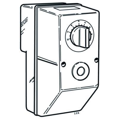 Underbar Ahlsell - K12 NIBE KOPPLINGSBOX - Kopplingsbox K11-12 för Backer OT-79